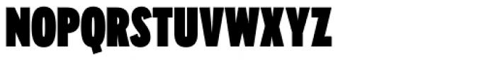 Galatea Black Condensed Font UPPERCASE