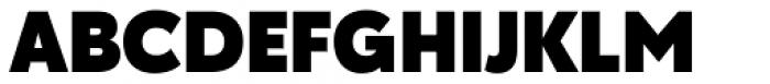 Galatea Black Font UPPERCASE