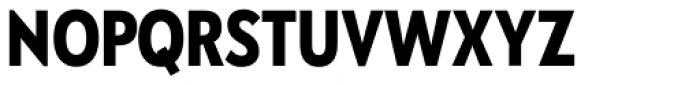 Galatea Bold Narrow Font UPPERCASE