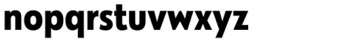 Galatea Bold Narrow Font LOWERCASE