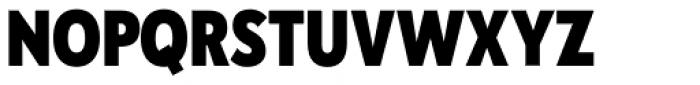 Galatea Extra Bold Narrow Font UPPERCASE