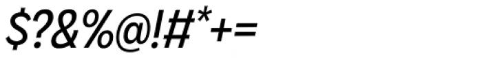 Galatea Narrow Italic Font OTHER CHARS