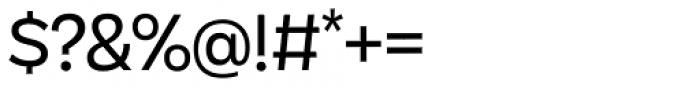 Galatea Regular Font OTHER CHARS
