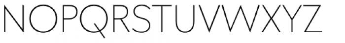 Galatea Thin Font UPPERCASE