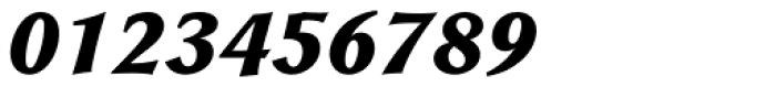 Galathea BQ Bold Italic Font OTHER CHARS