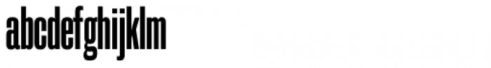 Galderglynn 1884 Squeeze Bold Font LOWERCASE