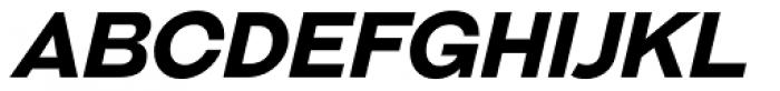 Galderglynn Esq. Bold Italic Font UPPERCASE