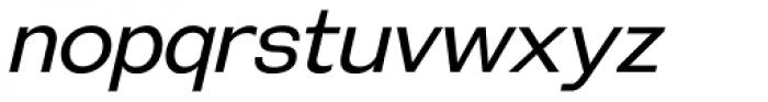 Galderglynn Esq. Book Italic Font LOWERCASE