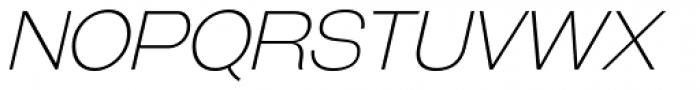 Galderglynn Esq. ExtraLight Italic Font UPPERCASE