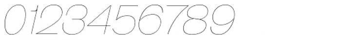 Galderglynn Esq. UltraLight Italic Font OTHER CHARS