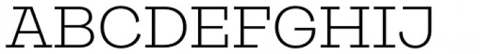 Galeria Alt Light Font UPPERCASE