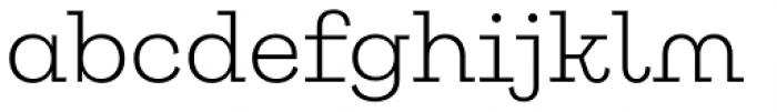 Galeria Alt Light Font LOWERCASE