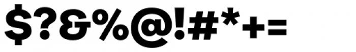 Galeria Black Font OTHER CHARS