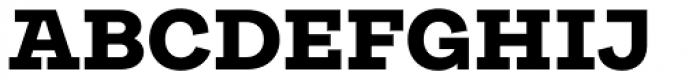 Galeria Black Font UPPERCASE