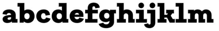 Galeria Black Font LOWERCASE