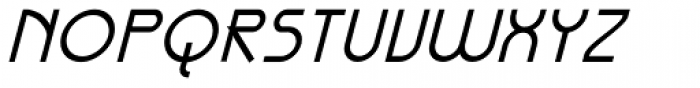 Galexica Bold Italic Font UPPERCASE
