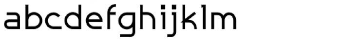 Galexica Bold Font LOWERCASE