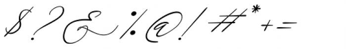 Galgadot Italic Font OTHER CHARS