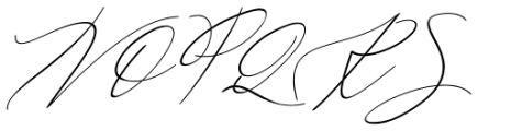 Galgadot Italic Font UPPERCASE