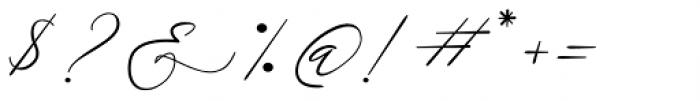 Galgadot Regular Font OTHER CHARS
