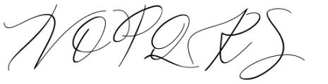 Galgadot Regular Font UPPERCASE