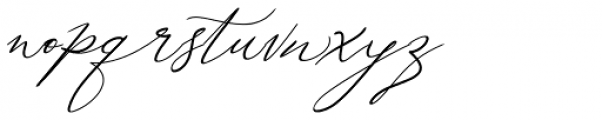 Galgadot Regular Font LOWERCASE