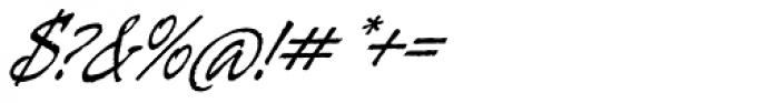 Galgo Script Alt Font OTHER CHARS