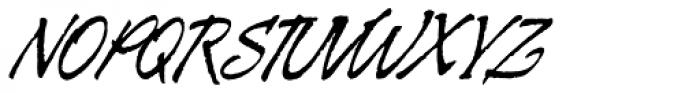 Galgo Script Alt Font UPPERCASE