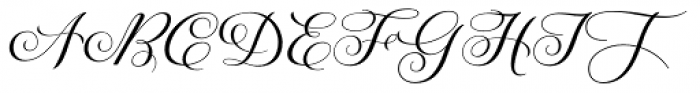 Galia Font UPPERCASE