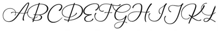 Galiano Text Font UPPERCASE