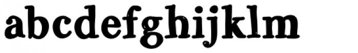 Galicya Solid Bold Font LOWERCASE
