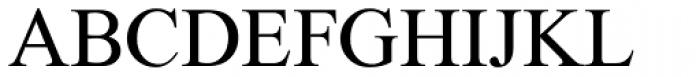 Galileo Light Font UPPERCASE