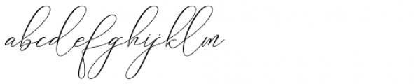 Galisha Regular Font LOWERCASE