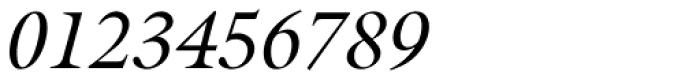 Galliard Italic Font OTHER CHARS