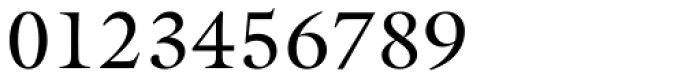 Galliard Roman Font OTHER CHARS