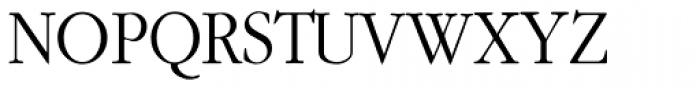 Gallimond Font UPPERCASE