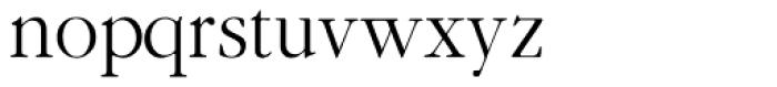 Gallimond Font LOWERCASE