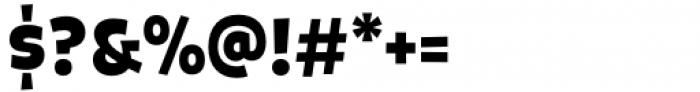 Galpon Pro Semi Black Font OTHER CHARS