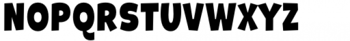 Galpon Pro Semi Black Font UPPERCASE