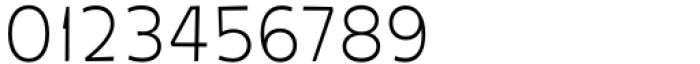 Galpon Pro Thin Font OTHER CHARS