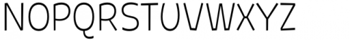 Galpon Pro Thin Font UPPERCASE