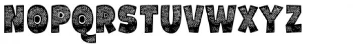 Galpon Spring Regular Font UPPERCASE