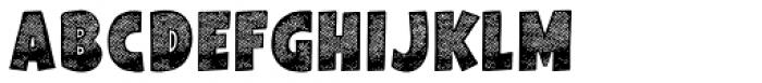 Galpon Spring Regular Font LOWERCASE