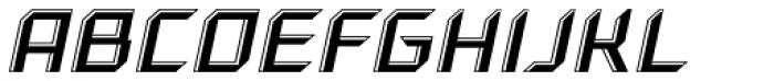 Gama Highlight Italic Font UPPERCASE