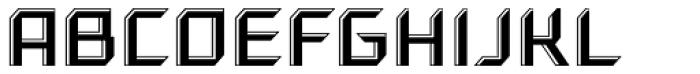 Gama Highlight Font UPPERCASE