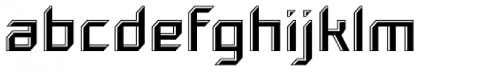 Gama Highlight Font LOWERCASE