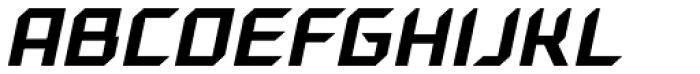 Gama Italic Font UPPERCASE