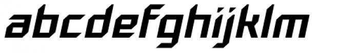 Gama Italic Font LOWERCASE