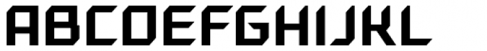 Gama Regular Font UPPERCASE