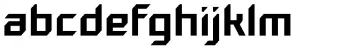 Gama Regular Font LOWERCASE